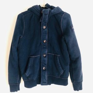 Abercrombie kids XL navy blue Jacket